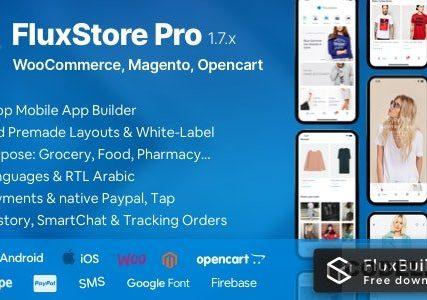 Fluxstore Pro – Flutter E-commerce Full App for Magento, Opencart, and Woocommerce