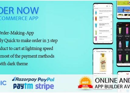 Order Now Mobile app for WooCommerce ionic 5
