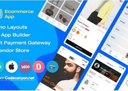 Oreo Fashion – Full React Native App for Woocommerce