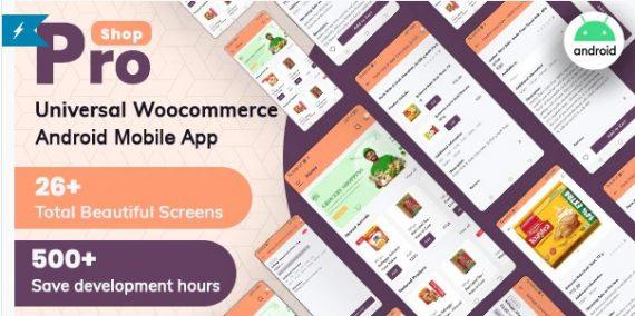 ProShop – WooCommerce Multipurpose E-commerce Android Full Mobile App + kotlin