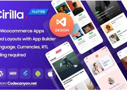 Cirilla – Multipurpose Flutter WordPress App