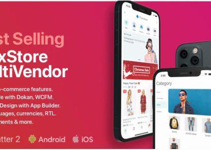 Fluxstore Multi Vendor – Flutter E-commerce Full App
