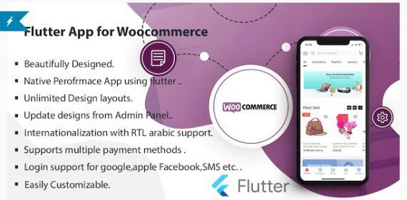 Flutter Multivendor Mobile app for WooCommerce