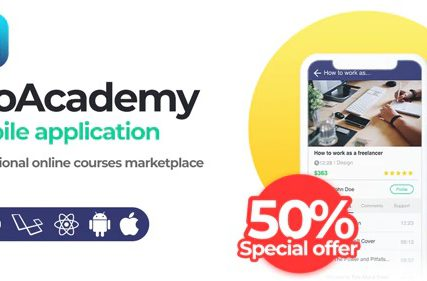 Proacademy mobile app – Education & LMS Marketplace (Android + iOS)