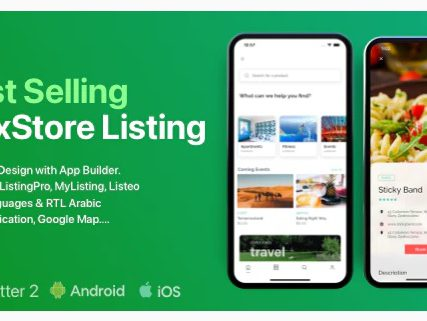 FluxStore Listing – The Best Directory WooCommerce app by Flutter